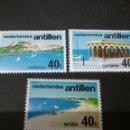 Sellos: SELLOS DE ANTILLAS HOLANDESAS NUEVOS. 1976. TURISMO. VELA. BARCO. BARCA. PLAYA. MONTAÑA. PAISAJE.. Lote 118033492