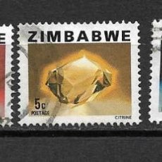 Sellos: MINERALES DE ZIMBABWE. SELLOS AÑO 1980. Lote 118541799