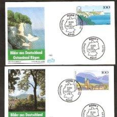Sellos: ALEMANIA FEDERAL.1993. FDC. MICHEL Nº 1684/1686. SERIE COMPLETA. Lote 118701979