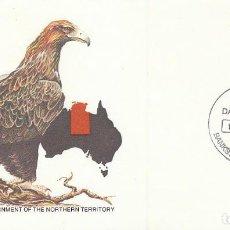 Timbres: AUSTRALIA, ROSA DEL DESIERTO, PRIMER DIA DE 19-6-1978. Lote 122944779