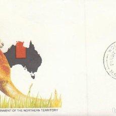 Timbres: AUSTRALIA, ROSA DEL DESIERTO, PRIMER DIA DE 19-6-1978. Lote 122944867