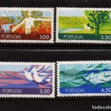 Sellos: PORTUGAL 1132/35** - AÑO 1971 - PROTECCION DE LA NATURALEZA. Lote 128994067