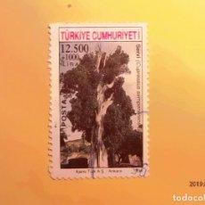 Sellos: TURQUIA 1994 - ÁRBOLES - CUPRESUS SEMPERVIRENS - CIPRES.. Lote 151014234