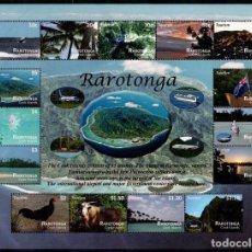 Sellos: RAROTONGA - COOK ISLANDS - HOJA BLOQUE - SERIE COMPLETA - NUEVA SIN FIJASELLOS. Lote 151315330