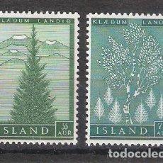 Sellos: ISLANDIA Nº 278/279** REPOBLACIÓN FORESTAL. SERIE COMPLETA. Lote 151474642