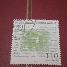 Sellos: SELLOS ALEMANIA, R. FEDERAL MTDO/1998/L ANIV. ASOCIACION CULTIVADORES/. Lote 155922760