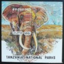 Sellos: 1994. NATURALEZA. TANZANIA. HB 221. PARQUE NACIONAL MANYARA. ELEFANTE. NUEVO.. Lote 156635762