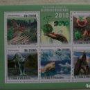 Sellos: NATURALEZA-PROTECCION DE LA NATURALEZA-GUINEA-2010-MINIPLIEGO**(MNH). Lote 159356326