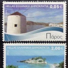 Sellos - 2010. Naturaleza. GRECIA. Turismo. Paisajes. Serie corta. Usado. - 162084690