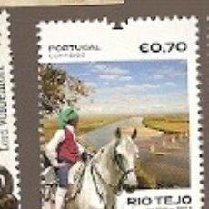Sellos: PORTUGAL ** & CABALLO LUSITANO Y EL RÍO TAJO 2018 (650). Lote 178334752
