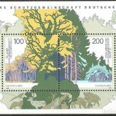 Sellos: ALEMANIA - 50 AÑOS DE PROTECCIÓN DE LA COMUNIDAD FORESTAL ALEMANA - NUEVO. Lote 178348861