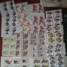 Sellos: SELLOS R. RUANDA (RWANDA) NUEVOS, BLOQUE 4/1972-1973/DEPORTE/INSECROS/ANIMALES/CONSTUMBRES/DANZA/PEC. Lote 197992638