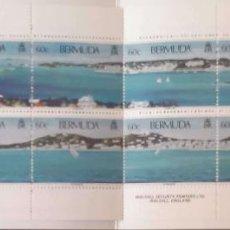 Sellos: BERMUDAS. C710 VISTAS DE HAMILTON Y ST. GEORGE'S, 10 SELLOS. 1996. SELLOS NUEVOS Y NUMERACIÓN YVERT.. Lote 198414753