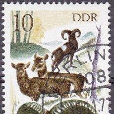 Sellos: 1977 - ALEMANIA - DDR - CAZA - MUFLON - YVERT 1940. Lote 198501853