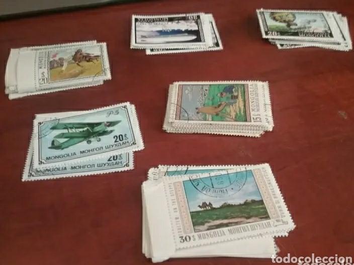 Sellos: Sellos R. Mongolia mtdos/colecdion-stock/resto pliegos/animales/fauna/flora/setas/arte/cultura - Foto 3 - 204225080