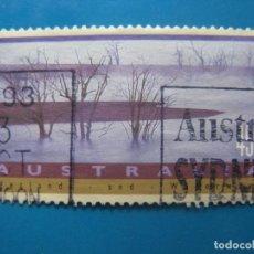Sellos: +AUSTRALIA 1992, CURSOS DE AGUA Y PAISAJES INUNDADOS, YVERT 1248. Lote 206516111