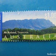 Sellos: +AUSTRALIA 2002, MONTES ROLAND, TASMANIA. Lote 206526843