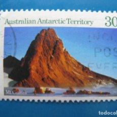Sellos: +AUSTRALIA, TERRITORIO ANTARTICO, 1984, MONTE COATES, YVERT 65. Lote 206558357