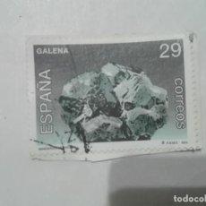 Sellos: SELLO GALENA MINERALES DE ESPAÑA 29 CORREOS ESPAÑA 1994. Lote 212658588