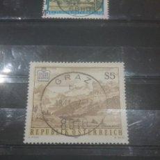 Sellos: SELLOS AUSTRIA (OSTERREICH) MTDOS/1987/NATURALEZA/MONTAÑAS/PAISAJE/FLORA/SIERRA/VALLE//. Lote 214049285