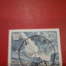 Timbres: SELLOS AUSTRIA (OSTERREICH) MTDOS/1988/PAISAJES/NATURALEZA/MONTAÑAS/BOSQUE/ARBOLES/FLORA/CASCADA/RIO. Lote 214573968