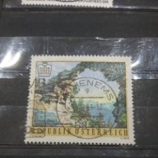 Sellos: HB AUSTRIA (OSTERREICH) MTDOS/1992/NATURALEZA/ROCAS/AGUA/RIO/MAR/PAISAJE/ARCO/FAUNA/FLORA. Lote 216564787