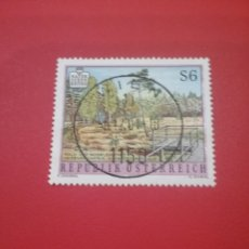 Timbres: SELLOS AUSTRIA (OSTERREICH) MTDOS/1995/ESPACIOS/NATURALEZA/HUMEDAL/ARBOLES/BOSQUE/FLORA/FAUNA/. Lote 218232661