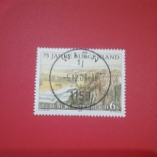 Timbres: SELLOS AUSTRIA (OSTERREICH) MTDOS/1996/75ANIV/BURGENLAND/PAISAJE/NATURALEZA/FAUNA/BOSQUE/MONTAÑAS. Lote 218237568