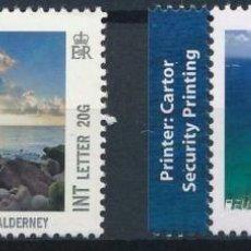 Sellos: GUERNESEY 2012 IVERT 1388/9 *** VISTAS DE GUERNESEY - NATURALEZA. Lote 225154227