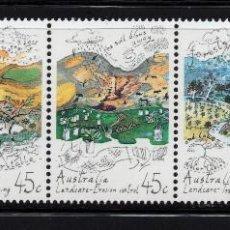 Sellos: AUSTRALIA 1264/68** - AÑO 1992 - ECOLOGÍA. Lote 227872955