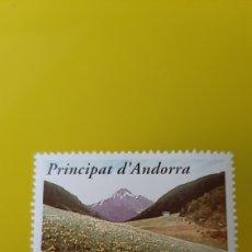 Sellos: ANDORRA ESPAÑA EUROPA 1999 PICOS FLORA NATURALEZA EDIFIL 272 SERIE COMPLETA NUEVA O USADA. Lote 234697270