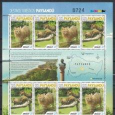 Sellos: UY-ML3652 URUGUAY 2019 MNH TOURISM - PAYSANDU - MONTES DE KENUEI. Lote 236770870