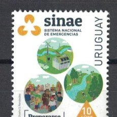 Sellos: UY3677 URUGUAY 2019 MNH 10 YEARS OF THE NATIONAL EMERGENCY SYSTEM. Lote 236771125