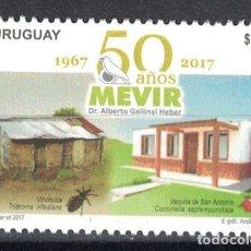 Sellos: UY3551 URUGUAY 2017 MNH 50 YEARS MEVIR. Lote 236771915