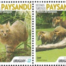 Sellos: UY3652 URUGUAY 2019 MNH TOURISM - PAYSANDU - MONTES DE KENUEI. Lote 236771920