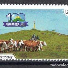 Sellos: UY3618 URUGUAY 2018 MNH 100 YEARS OF VICHADERO. Lote 236772055