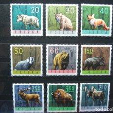 Timbres: SELLOS . POLSKA - POLONIA. ANIMALES. Lote 238810150