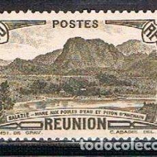 Sellos: REUNION Nº 169, MONTAÑA: PICO DE ANCHAIN, NUEVO SIN GOMA. Lote 239442230