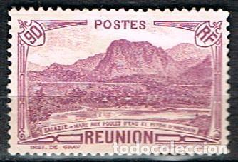REUNION Nº 168, MONTAÑA: PICO DE ANCHAIN, NUEVO SIN GOMA (Sellos - Temáticas - Naturaleza)