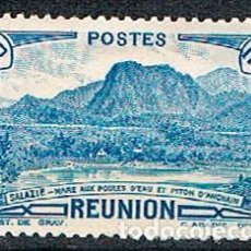 Sellos: REUNION Nº 166, MONTAÑA: PICO DE ANCHAIN, NUEVO SIN GOMA. Lote 239442625