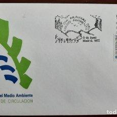 Sellos: MATASELLOS PRIMER DÍA. ESPAÑA 1992. DÍA MUNDIAL DEL MEDIO AMBIENTE. Lote 246089735