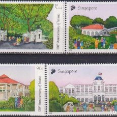 Sellos: 🚩 SINGAPORE 2019 THE 150TH ANNIVERSARY OF ISTANA MNH - TOURISM. Lote 246426195