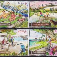 Sellos: 🚩 SINGAPORE 2019 NATIONAL DAY - PARKS MNH - NATURE, TOURISM. Lote 246426235