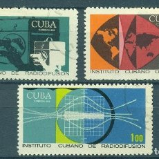 Sellos: ⚡ DISCOUNT CUBA 1969 CUBAN RADIODIFFUSION INSTITUTE U - CARDS, EDUCATION, ANTENNAS, RADIO, E. Lote 248372700