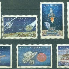 Timbres: 1868 CUBA 1972 NG COSMONAUTICS DAY - RUSSIAN SPACE EXPLORATION. Lote 248516730
