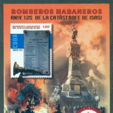 Sellos: ⚡ DISCOUNT CUBA 2015 FIREFIGHTING - THE 125TH ANNIVERSARY OF THE GREAT FIRE OF 1890 MNH - MO. Lote 253844945