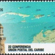 Sellos: ⚡ DISCOUNT CUBA 2019 22ND CARIBBEAN POSTAL UNION CONFERENCE MNH - CARDS, POST SERVICES, LIGH. Lote 253847860