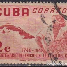 Sellos: ⚡ DISCOUNT CUBA 1952 THE 200TH ANNIVERSARY OF THE COFFEE CULTIVATION U - AGRICULTURE, COFFEE. Lote 255641595