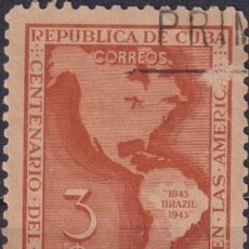 Sellos: ⚡ DISCOUNT CUBA 1944 THE 100TH ANNIVERSARY OF 1ST AMERICAN POSTAGE STAMPS U - CARDS. Lote 255642240