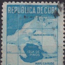 Sellos: ⚡ DISCOUNT CUBA 1949 THE 20TH ANNIVERSARY OF THE RETURN OF ISLE OF PINES TO CUBA U - CARDS. Lote 255642255
